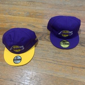 NEW! 2 New Era Los Angeles Lakers My 1st Hats